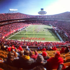 Photo taken at Arrowhead Stadium by Ramsey M. on 12/23/2012