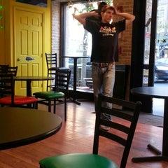 Photo taken at Machismo Burrito Bar by Katie C. on 9/24/2012