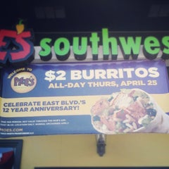 Photo taken at Moe's Southwest Grill by Steve N. on 4/25/2013
