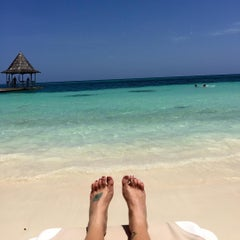 Photo taken at Sandals Montego Bay Resort and Spa by Missy W. on 7/19/2015