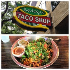Photo taken at Bodegas Taco Shop by Johnny L. on 7/28/2013