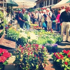 Photo taken at Columbia Road Flower Market by Adriana C. on 7/28/2013