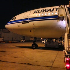 Photo taken at Kuwait International Airport (KWI) by Saud A. on 5/5/2013