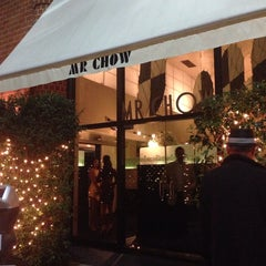 Photo taken at Mr Chow Restaurant by jon p. on 10/11/2014
