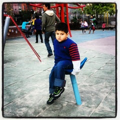 Photo taken at Hester Street Playground by Modesta M. on 10/14/2012