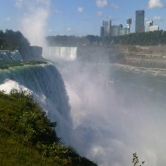 Photo taken at Niagara Falls (American Side) by Claudio P. on 9/19/2012