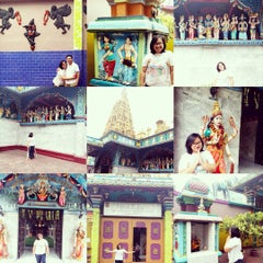 Photo taken at Kuil Shri Mariamman by Nanda W. on 10/25/2015