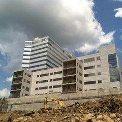 Photo taken at Worthless Hospital Building On 280 by Bill W. on 8/11/2013