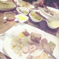 Photo taken at 까사브라질그릴 (Casa Brazil Grill) by Min-Ah H. on 12/25/2012