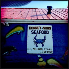Photo taken at Bonney & Sons Seafood and Produce by Milissa S. on 5/19/2014