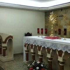 Photo taken at Capela Sagrada Família (Canção Nova) by Alex S. on 8/25/2013