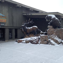 Photo taken at Jackson Visitor Center by Julie H. on 1/27/2014