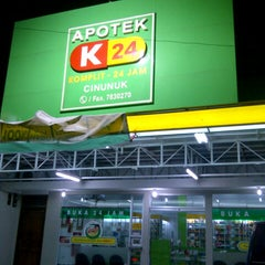 Photo taken at Apotik K-24 by Bhetz R. on 7/2/2013