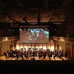 Photo taken at Wertheim Performing Arts Center by Daniella Veras @. on 12/16/2012