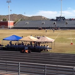 Photo taken at North Canyon High School by Alma B. on 11/3/2012