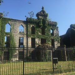 Photo taken at Smallpox Hospital by Danielle L. on 9/7/2015