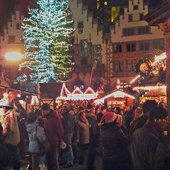 Photo taken at Frankfurter Weihnachtsmarkt by Björn Sigurd K. on 12/15/2012