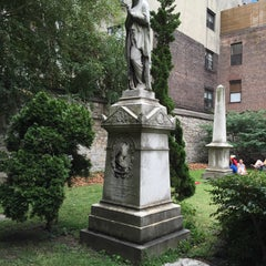 Photo taken at New York City Marble Cemetery by Susumu on 9/12/2015