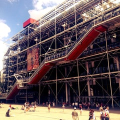 Photo taken at Centre Pompidou – Musée National d'Art Moderne by HeMoShA C. on 7/29/2013