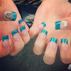 Photo taken at Luxe Nails by Kasie S. on 12/10/2012