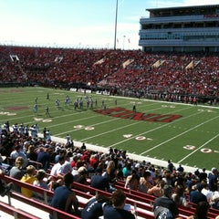 Photo taken at Sam Boyd Stadium by Jeff B. on 10/13/2012