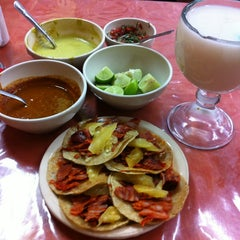 Photo taken at Tacos El Sabores by Alex R. on 6/18/2013