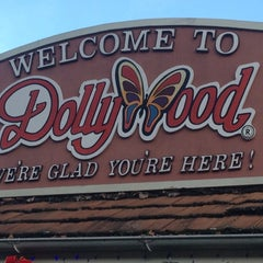Photo taken at Dollywood by Jim D. on 12/15/2012