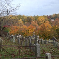Photo taken at Sleepy Hollow Cemetery by Chelle . on 10/27/2012