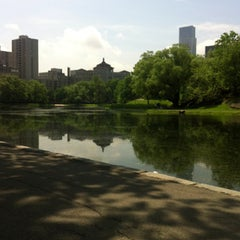 Photo taken at Central Park - Harlem Meer by Janssen R. on 5/20/2013