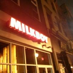 Photo taken at MilkBoy Philadelphia by Tom D. on 2/9/2013