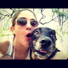 Photo taken at Shoal Creek Dog Park by Caitlyn B. on 10/2/2012