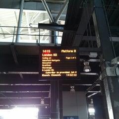 Photo taken at Platform 8 by Opera C. on 2/18/2013