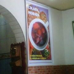 Photo taken at Panadería Dulssini by Roberto V. on 10/27/2012