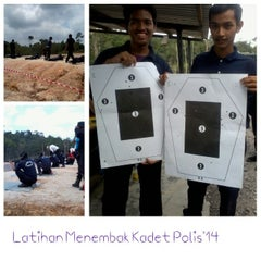 Photo taken at Pusat Latihan Polis Segamat(PULAPOL) by ShamimiHaniza D. on 3/19/2014