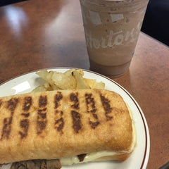 Photo taken at Tim Hortons by Ellen F. on 7/3/2015