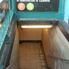 Photo taken at MTA Subway - Bergen St (F/G) by Ed S. on 4/17/2015