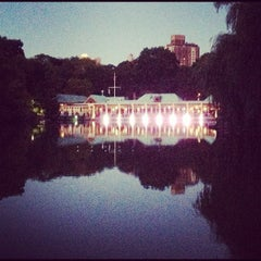 Photo taken at The Loeb Boathouse in Central Park by Mark C. on 9/23/2012