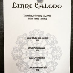 Photo taken at Linne Calodo Cellars by Kristy W. on 2/19/2015