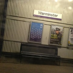 Photo taken at Warminster Railway Station (WMN) by KemZ Y. on 3/3/2013
