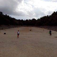 Photo taken at Αρχαιο Σταδιο - Hellenistic Stadium by Dmitrii B. on 9/19/2013