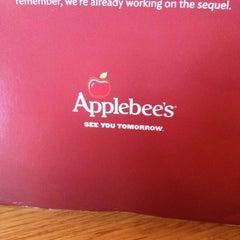 Photo taken at Applebee's by Kari B. on 10/18/2012