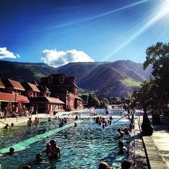 Photo taken at Glenwood Hot Springs by Micah W. on 6/7/2013