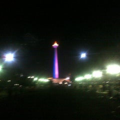 Photo taken at Monumen Nasional (MONAS) by Rijal N. on 5/25/2013