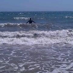 Photo taken at Playa Vichayito by Orlando V. on 4/28/2013
