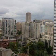 Photo taken at Hilton Seattle by Amber M. on 5/29/2013