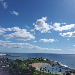 Photo taken at Marriott's Ko Olina Beach Club by Ashley C. on 2/14/2013