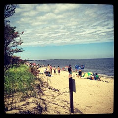 Photo taken at Ferry Beach State Park by Andy G. on 7/13/2013