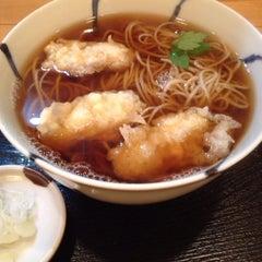 Photo taken at 手打蕎麦 松永 by makoto i. on 1/21/2014