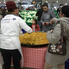 Photo taken at Carrefour - La Linea by Neal C. on 3/2/2013