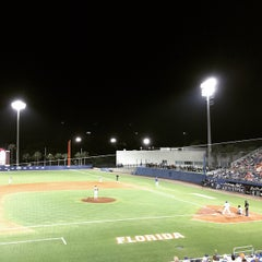 Photo taken at McKethan Stadium at Perry Field by Frank A. on 4/11/2015
